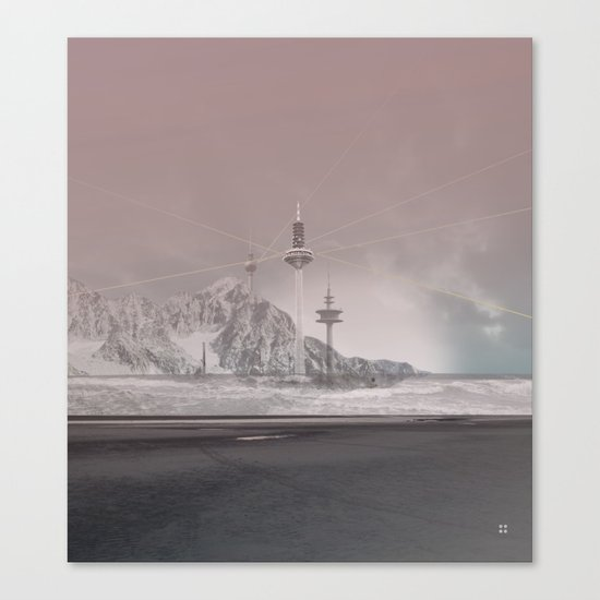 atmosphere 11 · The lost signal Canvas Print