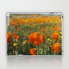 California Wildflower Poppy Superbloom Laptop & iPad Skin