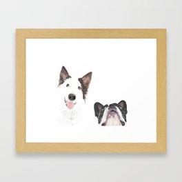 Los buenos Diaz Framed Art Print