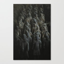 Terra-cotta Warriors of Xian China Canvas Print