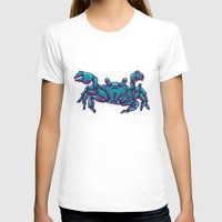 crab T-shirts featuring Crab by Jenji
