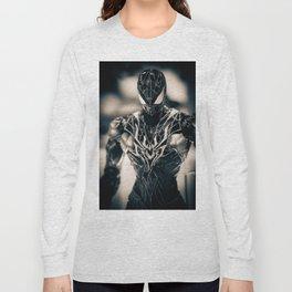 Black Spidey Long Sleeve T-shirt