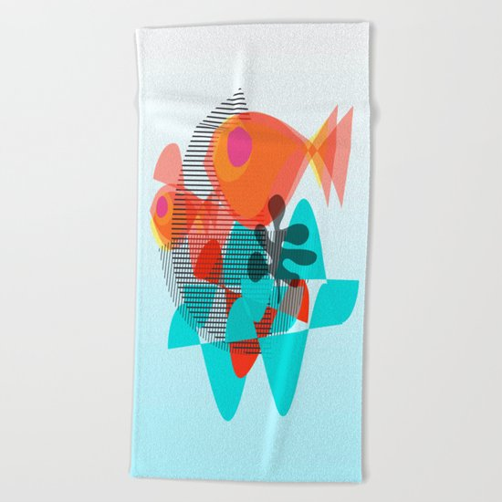 Piranas Beach Towel