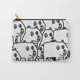 Many Dogs Carry-All Pouch