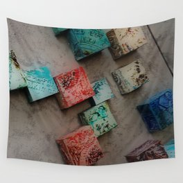 Single Ceramic Tiles Wall Tapestry