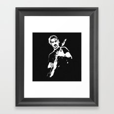 Zappa Guitar Framed Art Print