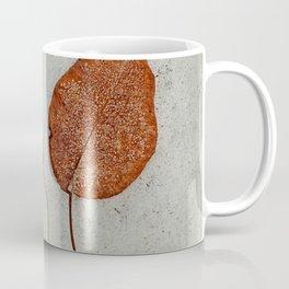 two frosty leaves Coffee Mug