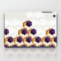 crystals iPad Cases featuring Crystals by AJJ ▲ Angela Jane Johnston