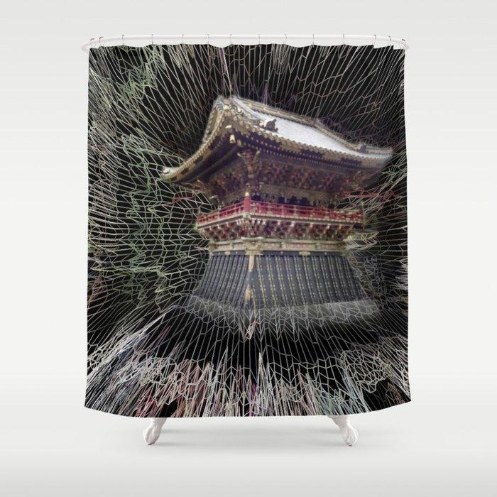 Nikko Shrine Shower Curtain
