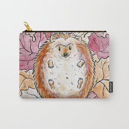 Hedgehog loves Autumn Carry-All Pouch