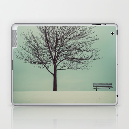 Bench with a View Laptop & iPad Skin