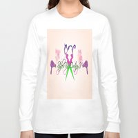 logo Long Sleeve T-shirts featuring logo by AB Art