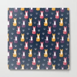 Cats all around Metal Print