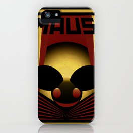 OBEY THE MAU5 iPhone Case