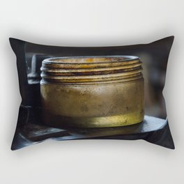 Glass jar colour Rectangular Pillow