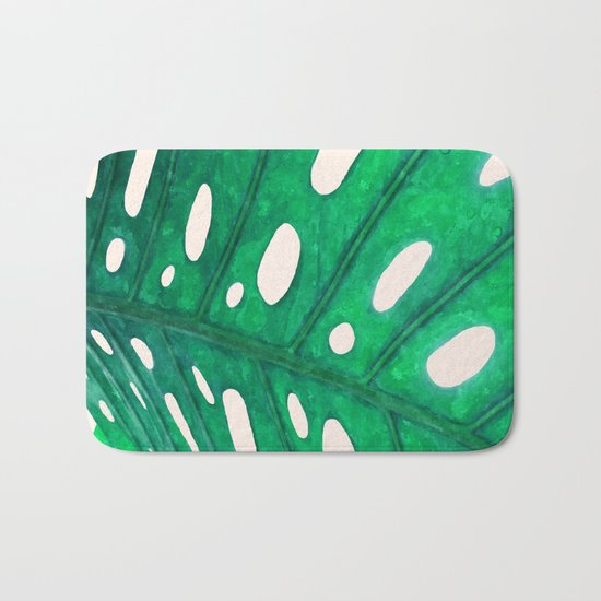 Foliage V2 #society6 #decor #lifestyle Bath Mat
