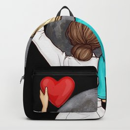 Doctor Nurse And The Moon Backpack