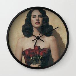Lana DelRey Poster Print Wall Clock