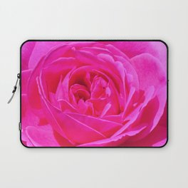 Artsy Pink Rose by Reay of Light Photography Laptop Sleeve