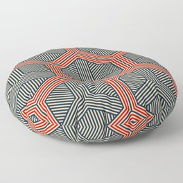 Hexagon No. 1 Floor Pillow