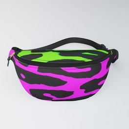 Pink and Green Leopard Fanny Pack