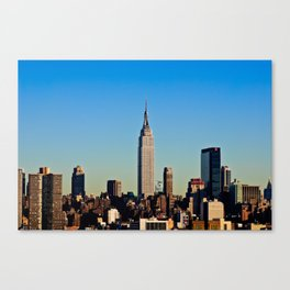 """Empire State"" Canvas Print"
