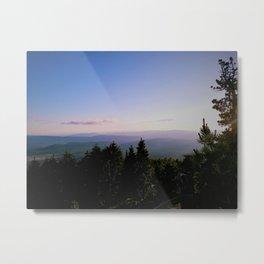 Cascade Mountain View Metal Print