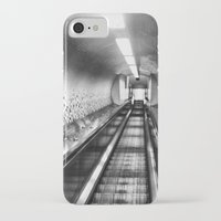 subway iPhone & iPod Cases featuring Subway by Leah Galant