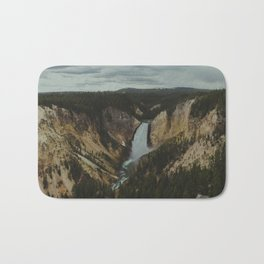 Yellowstone National Park Falls Bath Mat
