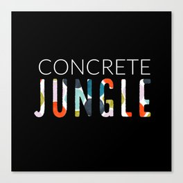 Concrete Jungle / #2 Canvas Print