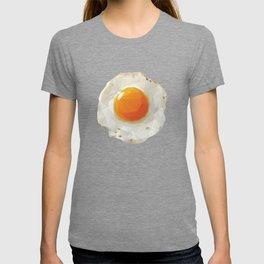 Fried Egg Polygon Art T-shirt