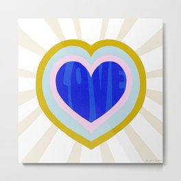 heart of love Metal Print
