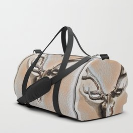 Antlers and Skull Duffle Bag