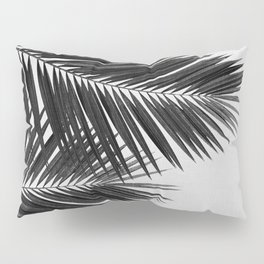 Palm Leaf Black & White II Pillow Sham