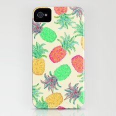 Pineapple Pandemonium (multi) iPhone (4, 4s) Slim Case