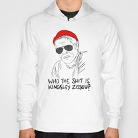 the life aquatic Hoodies featuring The Life Aquatic - Klaus by Stewart Chown