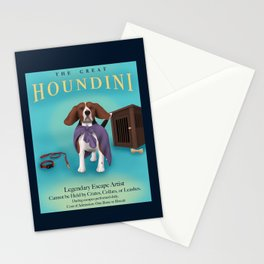 The Great Houndini Stationery Cards