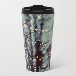 Winter Lights Metal Travel Mug