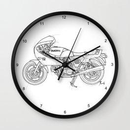 ducat motorcycle Wall Clock