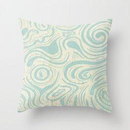 Wading Throw Pillow