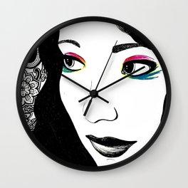 Pavlov's Daughter Wall Clock