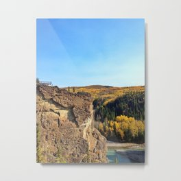 Grand Cache in the Fall Metal Print