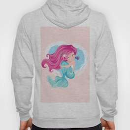 Cute mermaid illustration Hoody
