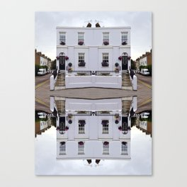 Architectural Illustration Canvas Print