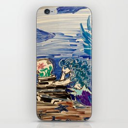 Dreaming Mermaid iPhone Skin