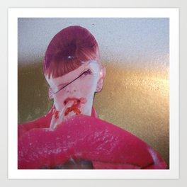FINGER LICKIN GUD Art Print