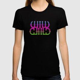 """""""Wild Child"""" Mirror image T-shirt"""