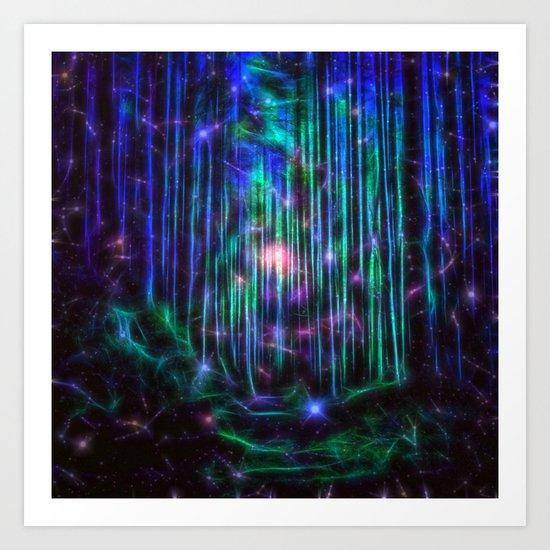 Magical Path ii Art Print