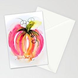 Pink Pumpkin Stationery Cards