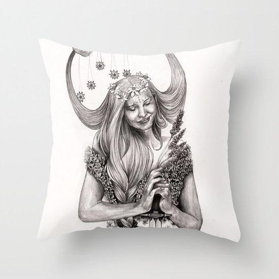 V I R G O Throw Pillow